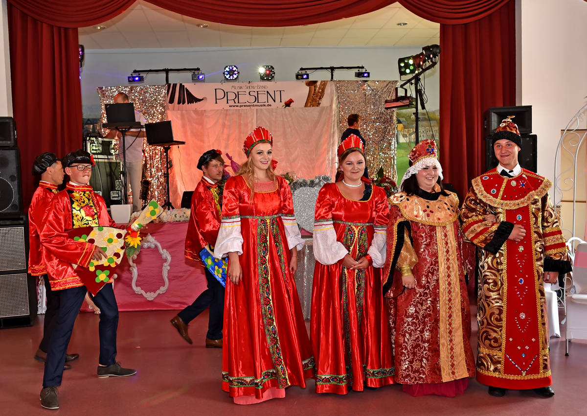 Russische hochzeit tradition